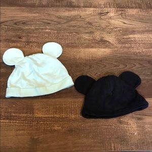 2 Mickey Hats